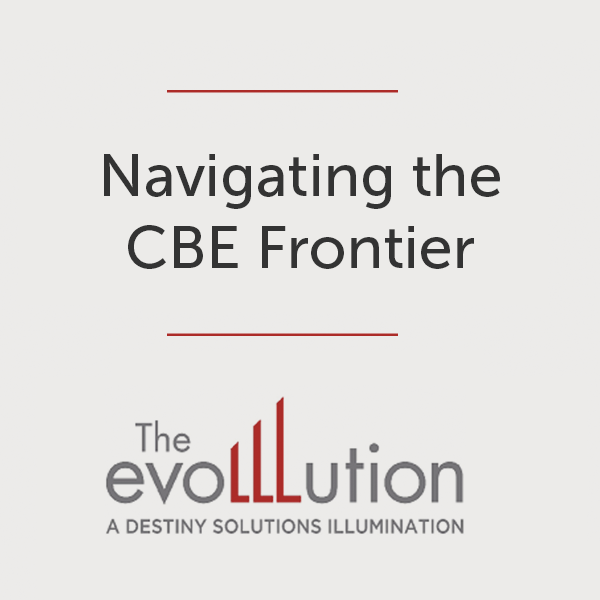 Navigating the CBE Frontier icon for The Evolllution blog series about the direct assessment competency-based education UW Flexible Option program in the University of Wisconsin System