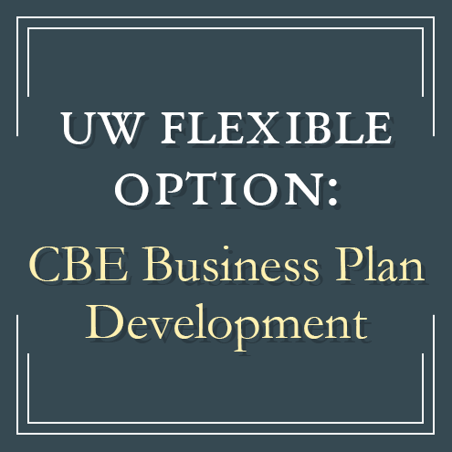 UW Flexible CBE Business Plan Development created by leaders in the direct assessment competency-based education program offered by the University of Wisconsin System and UW-Extension
