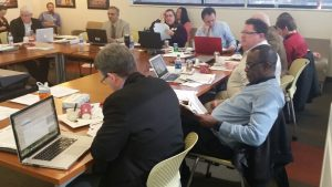 University of Wisconsin Flexible Option UW-Extension business degree faculty meeting March 2016