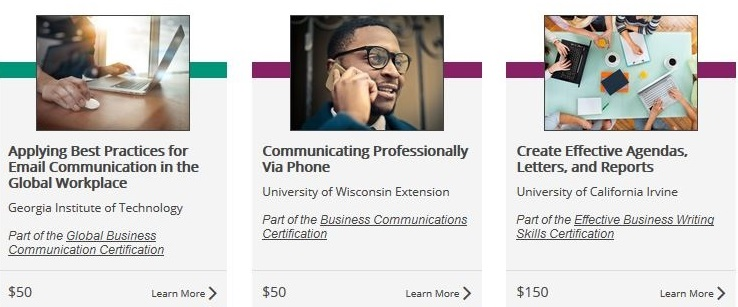 The University Learning Store offers competency-based education microcredentials through a collaborative program including the University of Wisconsin-Extension.