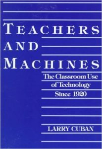 "Cover image of ""Teachers and Machines"""
